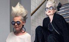 Močiutė drebina internetą: stiliui amžius - ne riba