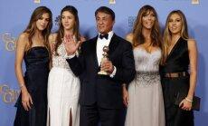 Sylvester Stallone su žmona ir dukterimis