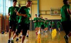 Vilniaus Žalgirio treniruotė Slovėnijoje
