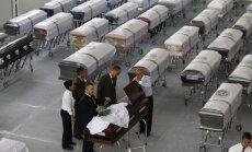 Brazilija gedi žuvusiųjų per lėktuvo katastrofą