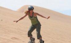 Snieglentė pravers ir vasarą: geriausios vietos čiuožti per smėlio kopas pasaulyje