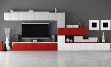 Interjero idėjos: stilinga vieta televizoriui