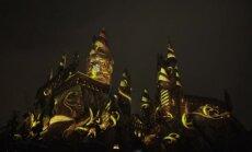Prieš 20 metų išleista pirmoji knyga apie Harį Poterį: šventinė projekcija Hogwartso pilyje