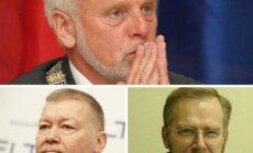 Kandidatai į Alytaus mero postą: Jurgis Krasnickas, Vytautas Grigaravičius, Dobilas Kurtinaitis