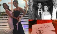 Evos Longorios vestuvės