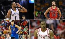 NBA žaidėjų vasaros turgus prasidėjo (AFP ir AP nuotr.)