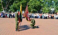 Prisiekė beveik 400 nuolatinės privalomosios pradinės karo tarnybos karių
