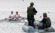 Saugumo pajėgoms Rio de Žaneire tenka sergėti olimpiečius kiekviename žingsnyje