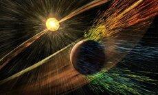Saulės vėjas nupūtinėja Marso atmosferą