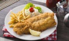 Žuvis ir bulvytės