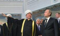 V. Putinas dalyvavo didžiulės mečetės atidaryme