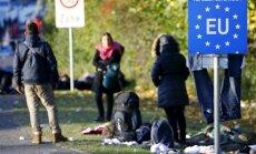 Migrantai prie ES sienos