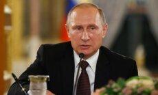 V. Putinas pasveikino Estiją