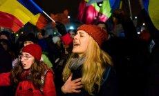 Protestas Rumunijos sostinėje Bukarešte