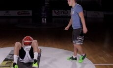 Neįtikėtina treniruotė su Tauru Jogėla: įdomiausi pratimai greičiui ir reakcijai