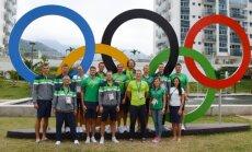 Lietuvos irkluotojai atvyko į Rio olimpinį kaimelį