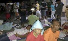 Po žemės drebėjimo Filipinuose