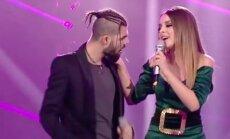 Rumunijos atstovai Eurovizijoje Ilinca ir Alexas Florea