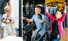 Deivio ir Renatos Norvilų šeima aktyviai sportuoja