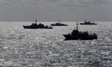 Kariniai laivai Baltijos jūroje