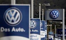 Permainos ėmė bręsti kilus Volkswagen skandalui