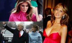 Donaldas Trumpas ir Melania Trump
