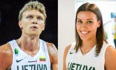 Mindaugas Kuzminskas ir Kamilė Nacickaitė