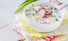 Šalta ridikėlių sriuba