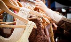 drabužiai, dėvėtų drabužių parduotuvė