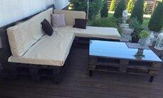 """<span style=""""color: #ff0000;"""">Atlikėjos N. Bunkės patirtis:</span> lovos kampas ir stalas už 300 eurų"""