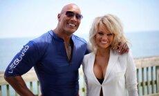 Dwayne Johnson ir Pamela Anderson