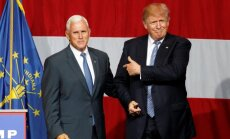 Donaldas Trumpas, Mike'as Pence'as
