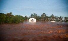 Upės potvynis Dakare