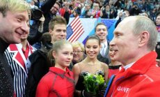 Jevgenijus Pliuščenka ir Vladimiras Putinas