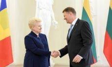 Dalia Grybauskaitė, Klaus Iohannis
