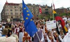 Folk groups from Lithuania took part in international folk festival EUROPEADE in Sweden