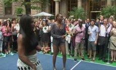 Rafaelis Nadalis ir seserys Williams žaidė virtualų tenisą