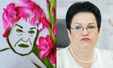 Jolitos Vaitkutės kurtas Audronės Pitrėnienės portretas, Audronė Pitrėnienė