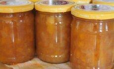 Konservuojame žiemai: obuolių-persikų uogienė