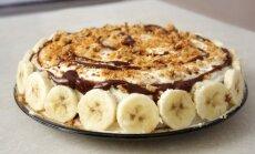 Bananai, meduoliai, grietinė