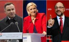 A. Duda, M. Le Pen, M. Schulzas