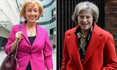 Theresa May ir Andrea Leadsom