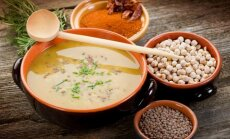Avinžirnių ir lęšių sriuba