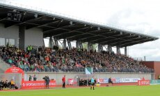 Telšių stadionas (V.Knyzelio/LFF nuotr.)