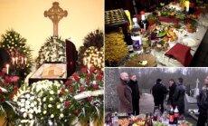 Ponios Reginos laidotuvės