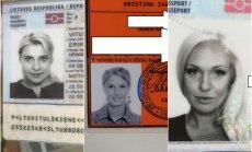 Erikos Vitulskienės, Kristinos Ivanovos ir Oksanos Pikul dokumentų nuotraukos