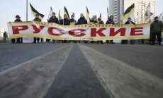Russian Marches in Moscow