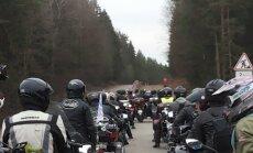 Kunigo Egidijaus Kazlausko organizuota motociklininkų kelionė