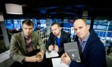 Martynas Nedzinskas, Kirilas Glušajevas ir Audrius Bružas