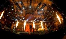 Iron Maiden koncerto akimirka